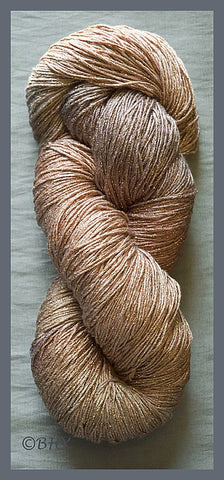 Milk Chocolate Rayon Metallic Yarn