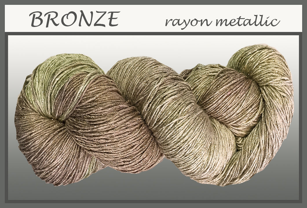 Bronze Rayon Metallic Yarn
