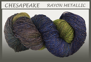 Chesapeake Rayon Metallic Yarn