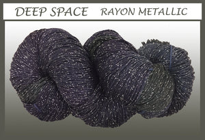 Deep Space Rayon Metallic Yarn