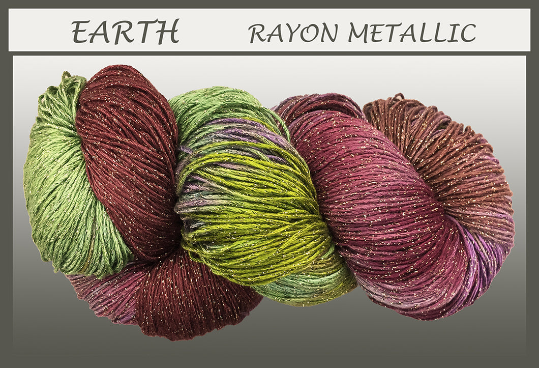 Earth Rayon Metallic Yarn