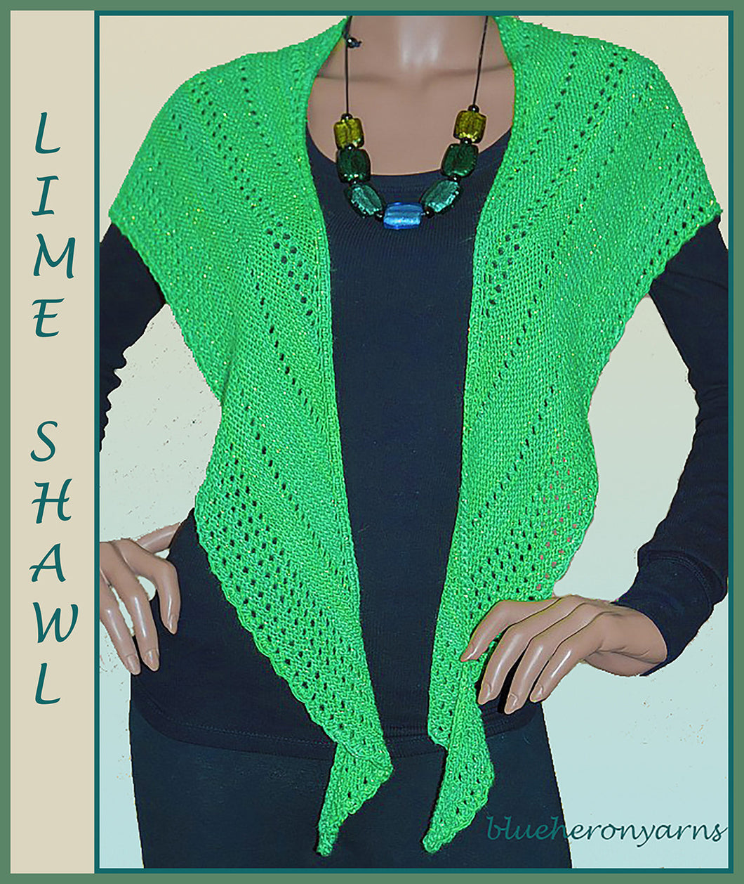 Lime Shawl