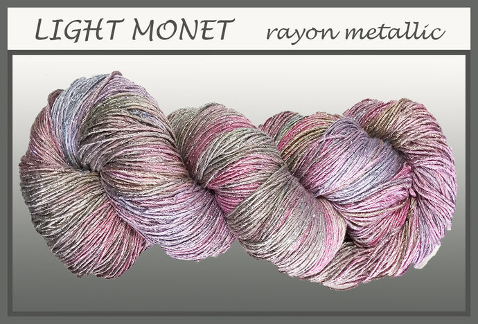 Light Monet Rayon Metallic Yarn