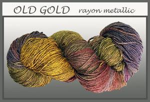 Old Gold Rayon Metallic Yarn