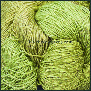 Soft Green Rayon Metallic Yarn