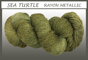 Sea Turtle Rayon Metallic Yarn