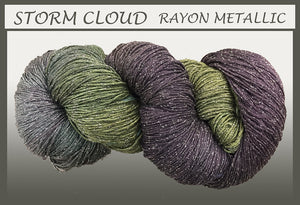 Storm Cloud Rayon Metallic Yarn