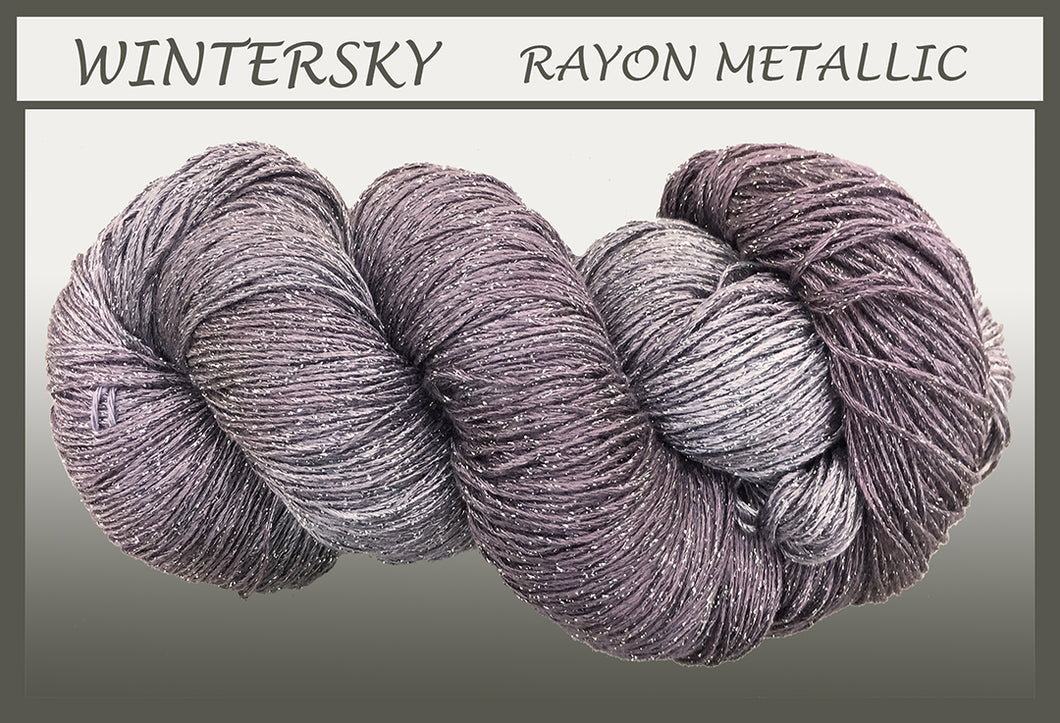 Wintersky Rayon Metallic Yarn