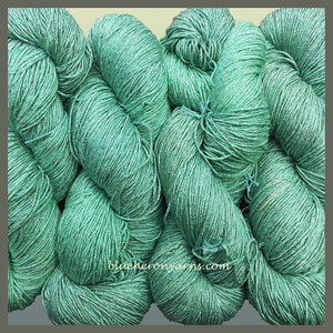 Robin's Egg Blue Rayon Metallic Yarn