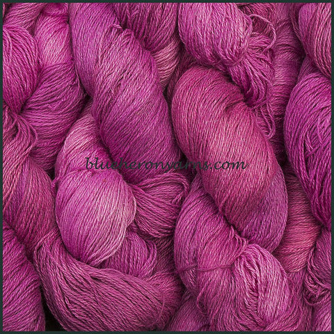 Berry Silk Linen Yarn