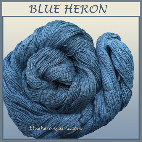 Blue Heron Silk Linen Yarn
