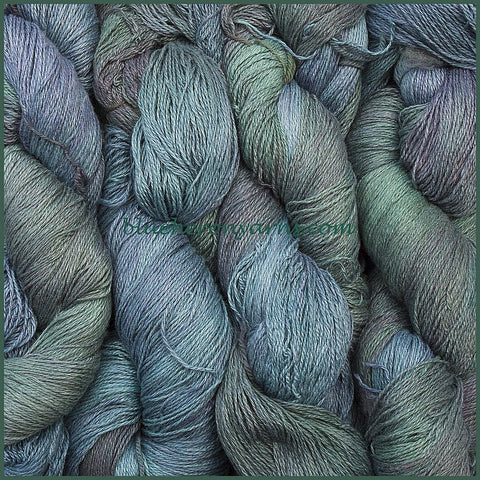 Blue Moon Silk Linen Yarn