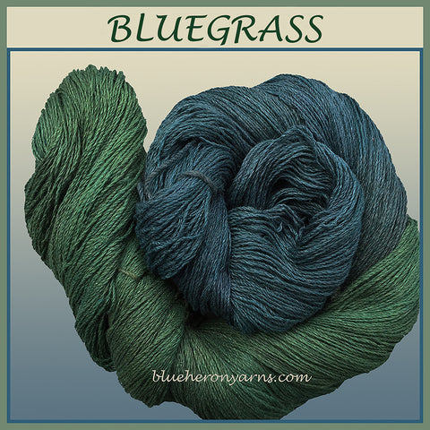 Bluegrass Silk Linen Yarn