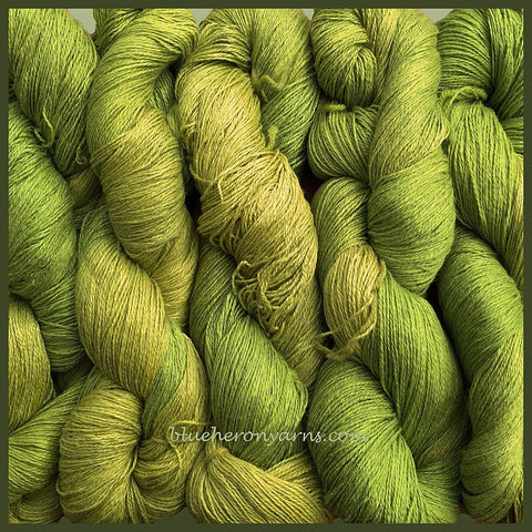 Caterpillar Silk Linen Yarn