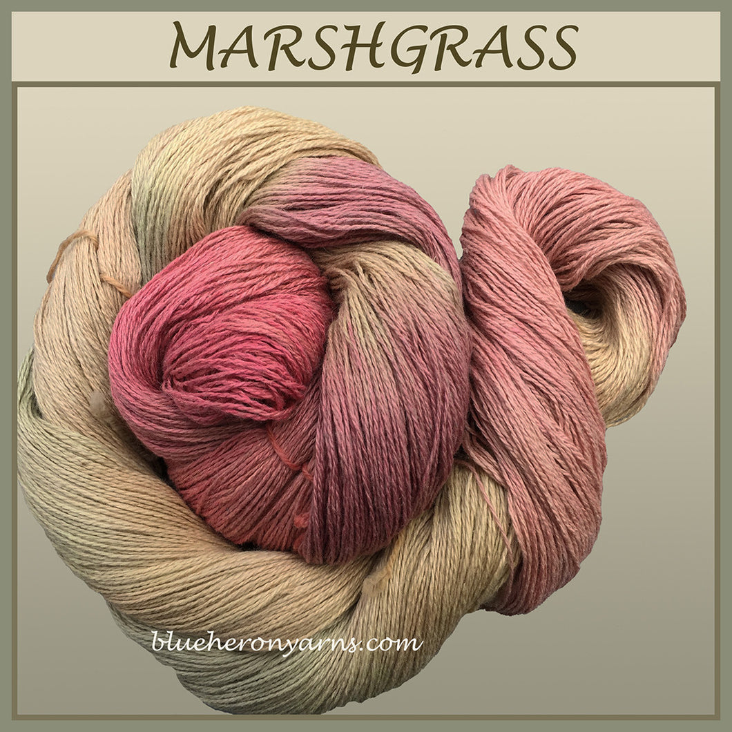 Marshgrass Silk Linen Yarn