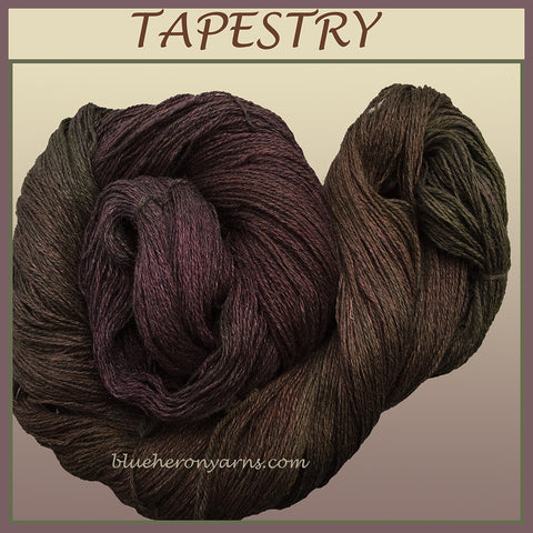 Tapestry Silk Linen Yarn