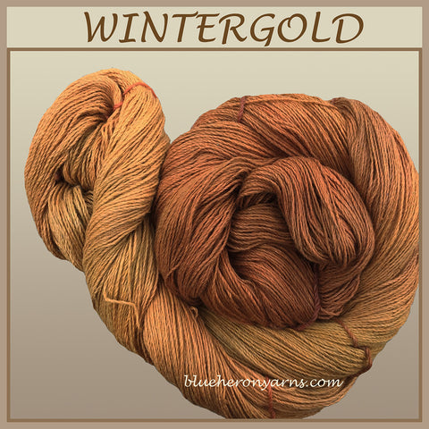 Wintergold Silk Linen Yarn