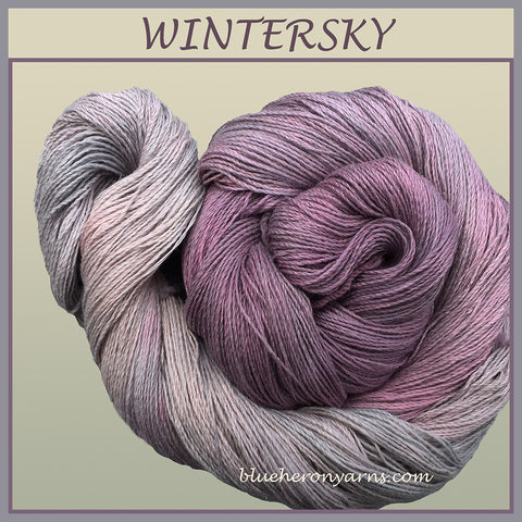 Wintersky Silk Linen Yarn