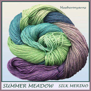 Summer Meadow Silk Merino Yarn