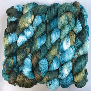 Forest Silk Merino Lace Yarn