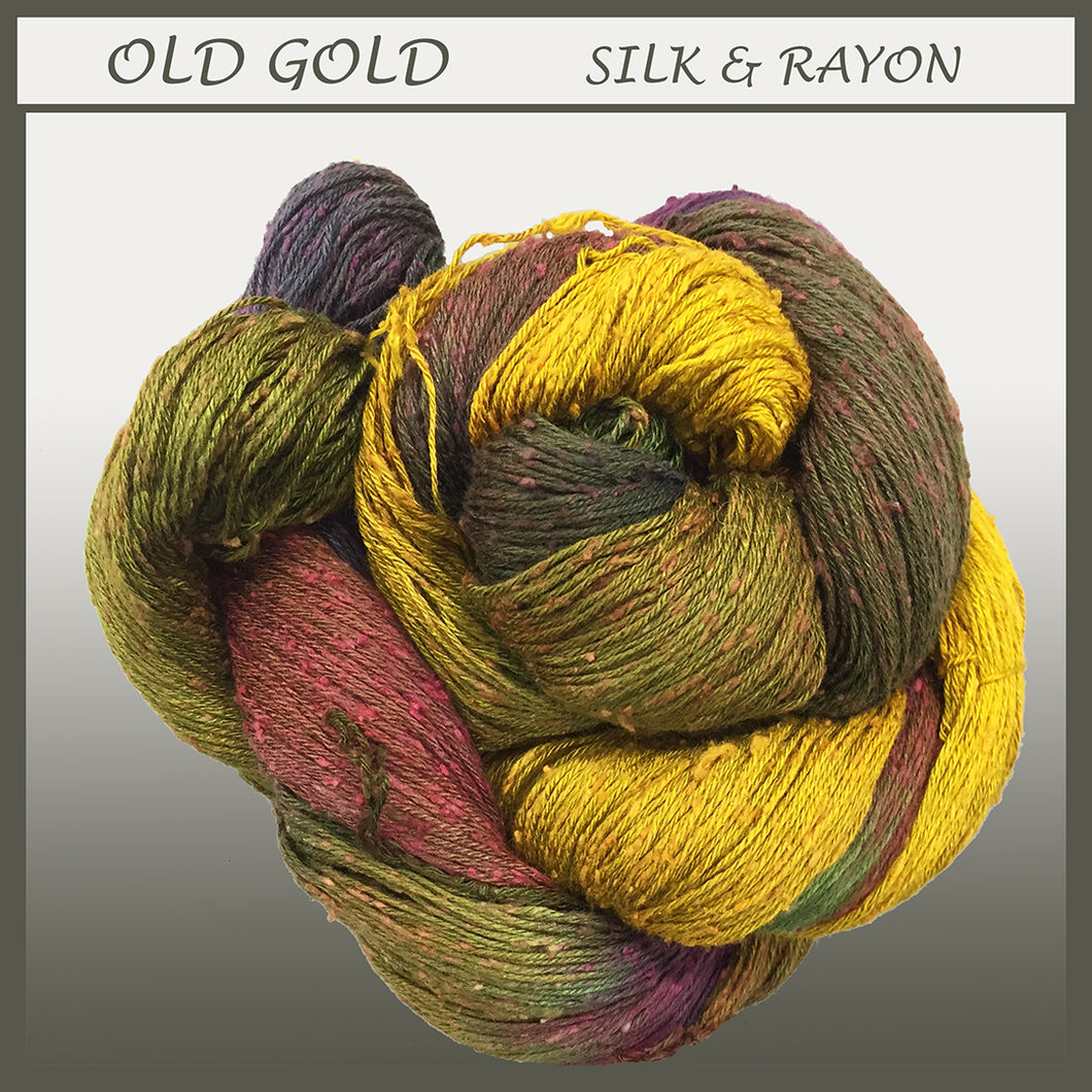 Old Gold Silk & Rayon Yarn