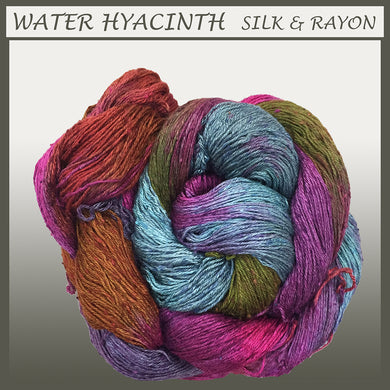 Water Hyacinth Silk & Rayon Yarn