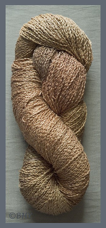 Milk Chocolate Softwist Rayon Yarn