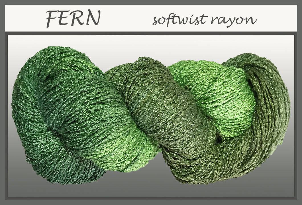 Fern Softwist Rayon Yarn