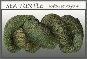 Sea Turtle Softwist Rayon Yarn