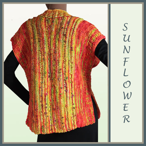 Sunflower Wool Vest