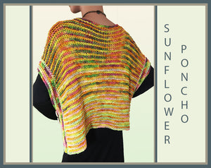 Sunflower Poncho