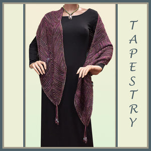 Tapestry Mitered Square Shawl