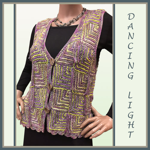Dancing Light Mitered Vest