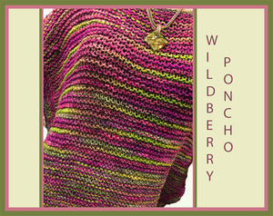 Wildberry Poncho