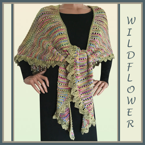 Wildflower Shawl