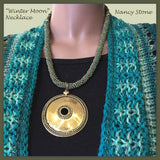 Necklace-Winter Moon