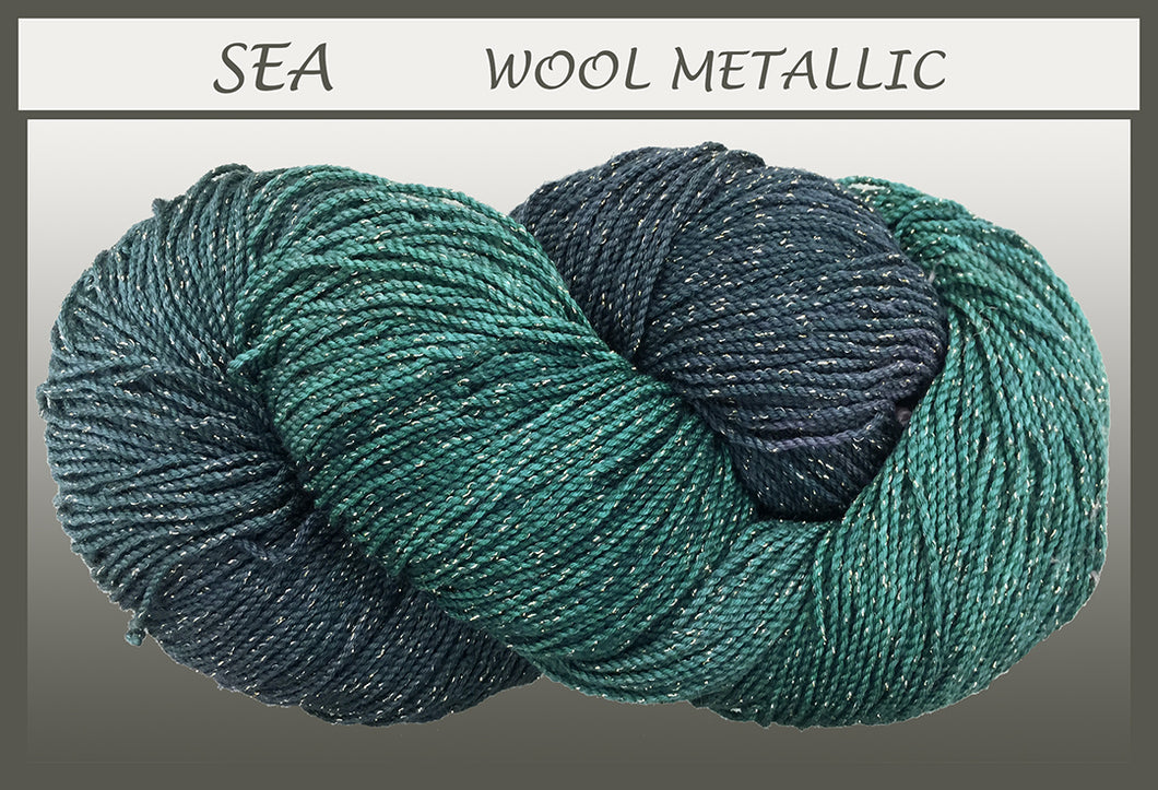 Sea Wool Metallic Yarn