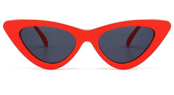 Runway Cat Eye Sunglasses Red
