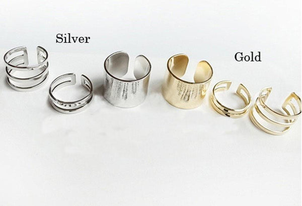 Piece Me Together Gold Rings