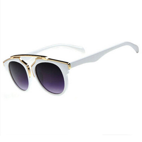 Heaven Sent White & Gold Sunglasses