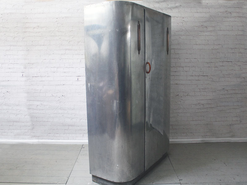 A 1940's Aluminium Wardrobe by Huntington Aviation