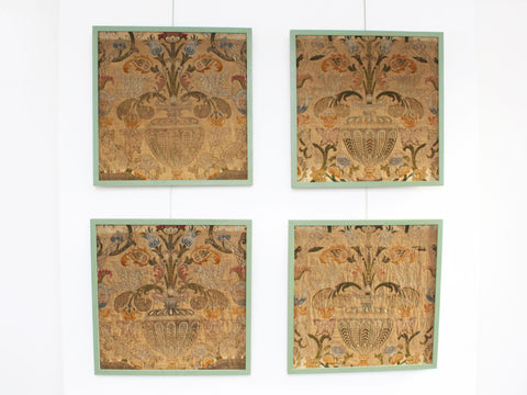A French Napoleon III Decorative Floral Panel
