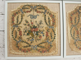 A Set of Four Early 19th Century Framed Needlework Pieces
