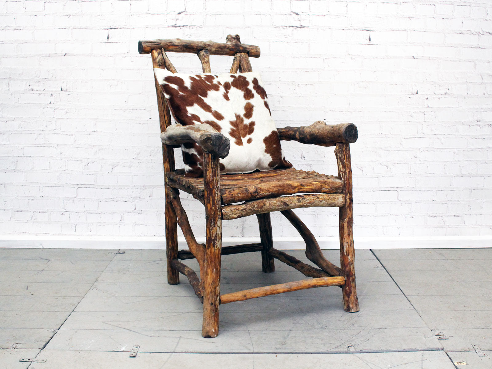 wonderful 19th c french folk art bergeres wooden armchair