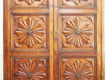 An 18th C French Carved Walnut Armoire