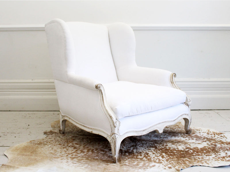 A Magnificent, Very Large Late 19th Century French Armchair
