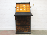 A 19th Century Irish Decoupage Bureau Desk