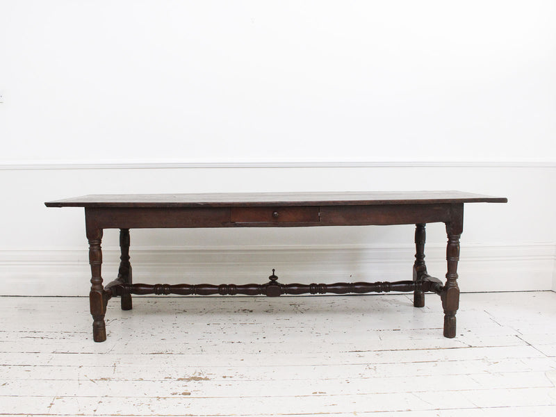 An 18th Century French Oak Refectory Table