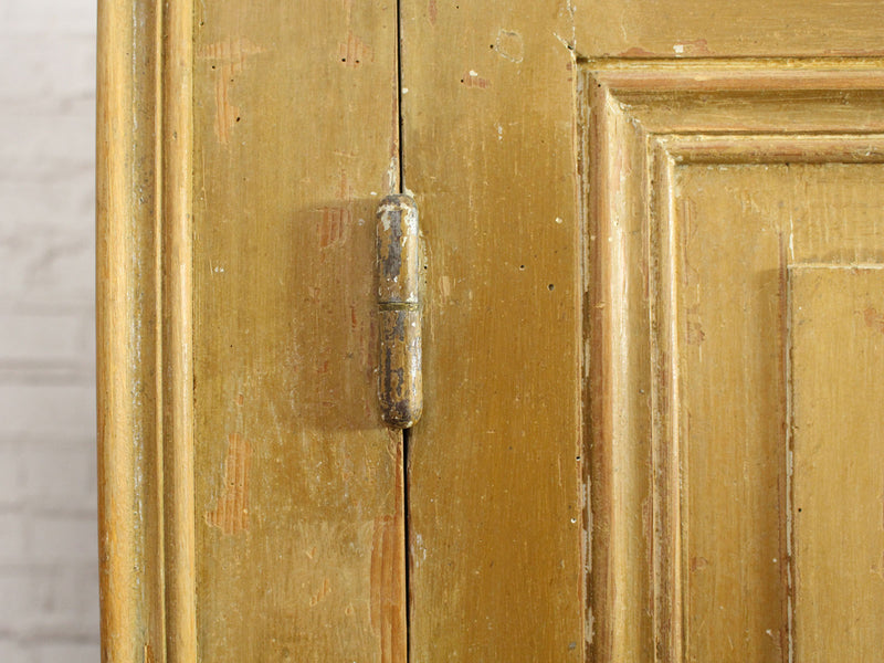Antique Painted 19th Century French Cupboard with Original Paint