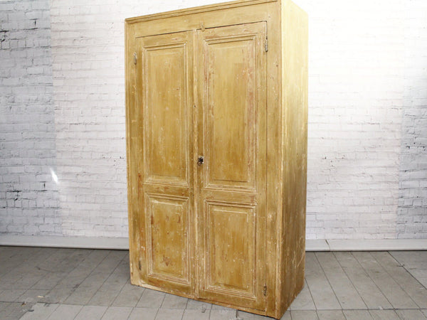 19th Century French Cupboard with Original Paint